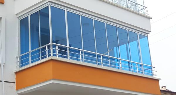 ısıcamlı kollu cam balkon